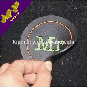 Commercial crafts custom plastic tea silicone coaster on sale