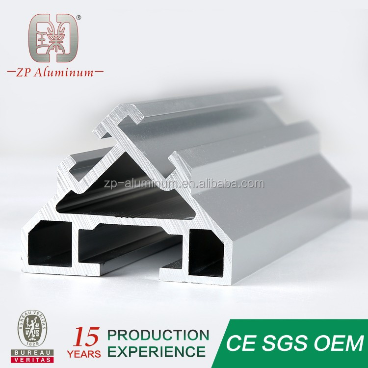 Guangzhou 6063 extruded aluminum profiles factory