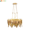 Zhongshan new products of metal sheets pendant light