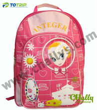 Pink Back to school packs for girl