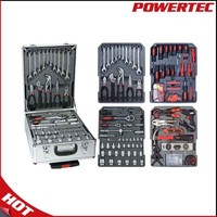 POWERTEC 186pcs Metal Multifunction Hand Tools,china tool set