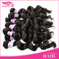 wholesale price 5a virgin peruvian loose wave hair with closure