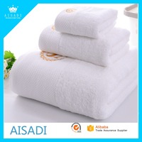 Cheap Wholesale Bath Room Hotel 100% Cotton White Towel