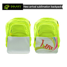 2017 New Custom Design Blank Sublimation Backpack Bag