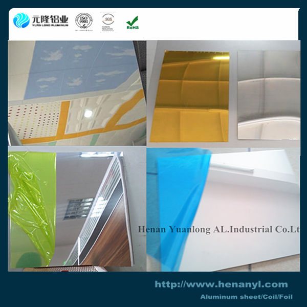 0.5mm Alloy 0.5mm Alloy 1060 1100 3003 Mirror Aluminum Sheet For Ceiling Lights