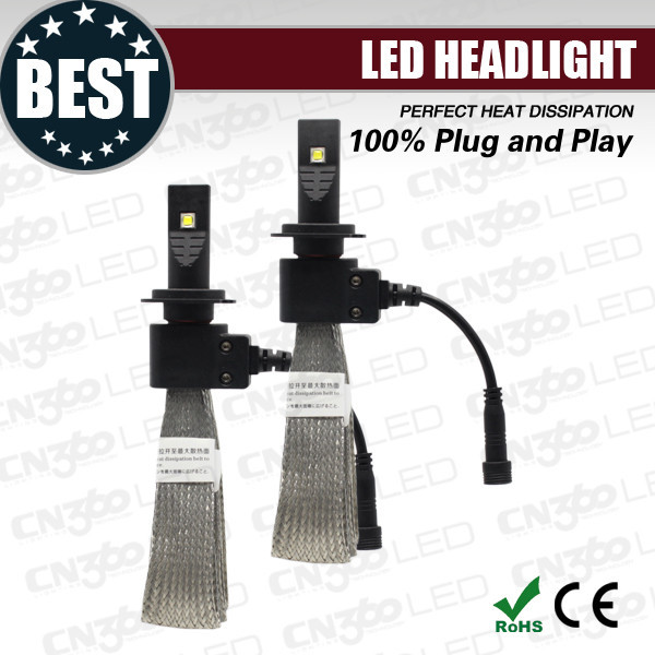 Fashion design led auto light 12v h7, led auto lighting system