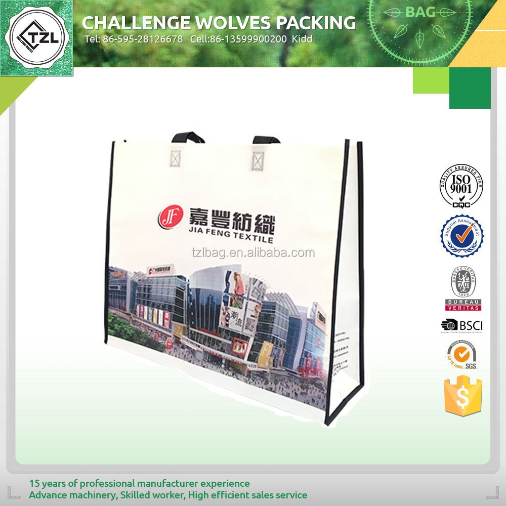 Economic recyclable pp non woven bag