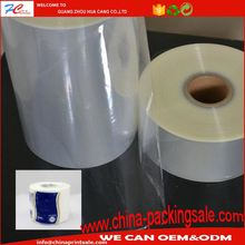wholesale clear bopp plain packing film roll for market commodity packing