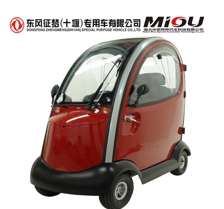 new version high quality 2 seats air conditioning EEC approval L6e electric mini car