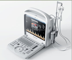 High performance ultrasound machine with color doppler