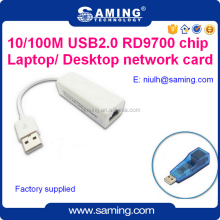 USB2.0 to rj45 port 100Mbps wireless ethernet lan card/ network adapter