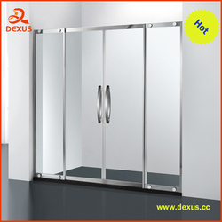 6mm Clear Glass Custom Size Sliding Shower Screen