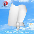 300w vertical axis wind turbine factory with CE