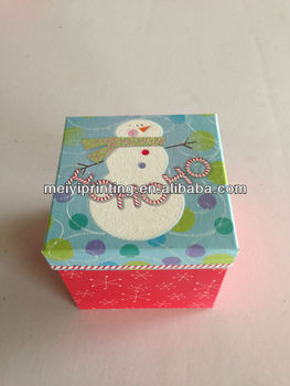 Christmas Cardboard Packaging Boxes