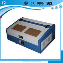 40w 50w High Precision CO2 reci Laser tube rubber stamp making machine for card making machine