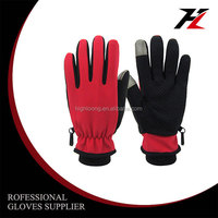 2013 New Style Genuine Leather Colored Goatskin Riding Gloves