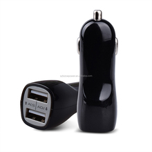 Electric Car Charging Stations Mobile Phone Car Charger 2.1A Dual USB Safety dual ports USB Car Charger