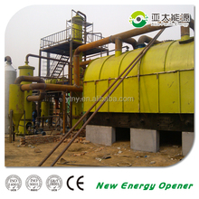 recycling waste tyre pyrolysis plant with free installation