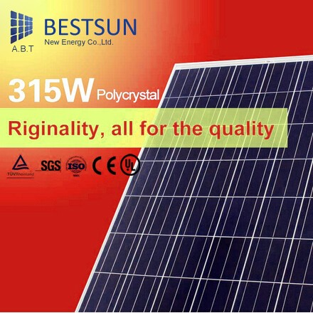 315w Professional manufacture made Full certificate pv solar panel price
