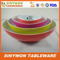 Different Sizes BPA Free Melamine Plastic Japanese Style Bowl