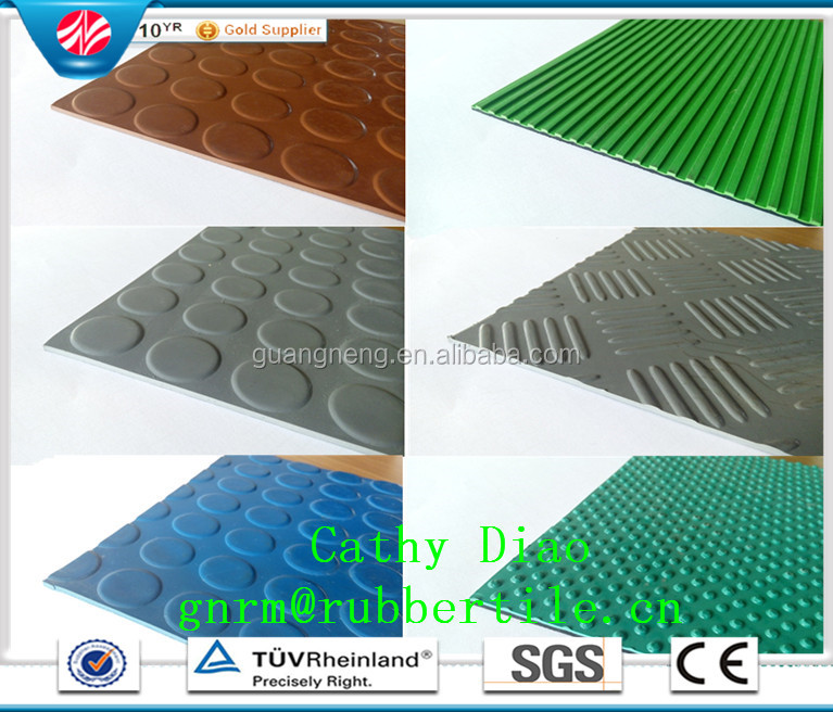 Promotion high quality airport safety-proof rubber flooring for volleyball court