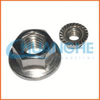 Made in china six corner flange nuts