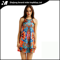 Oriental Charm Plus Size Dylan Digital Printing Fashion Casual Wholesale Sexy Dress