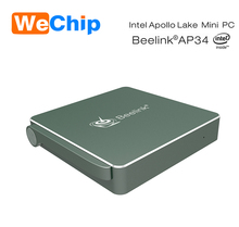 2017 Most Powerful Intel Apollo Lake N3450 Win10 Mini PC Beelink AP34 Accept OEM TV BOX