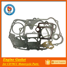 factory provide gasket kit spare parts motorcycle cd70