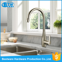 Luxury Quality-assured Spring Loaded Kitchen Sink Shower Mixer Tap Faucet