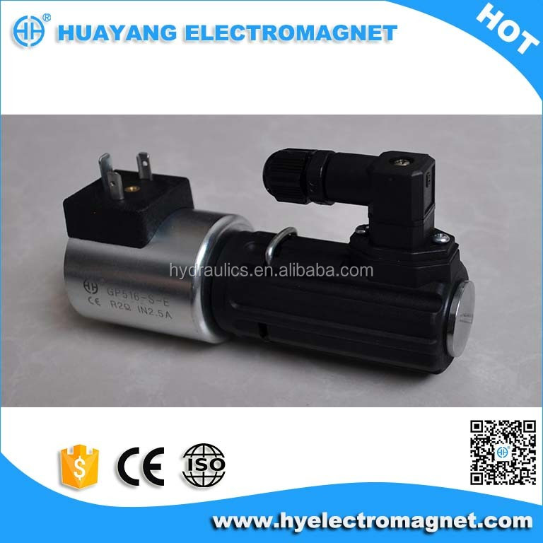 Excellent quality GP516-S-EIW solenoid operated directional control valve