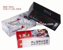 2014 new style clear pvc packaging box clear plastic earring box,custom logo printed jewelry boxes