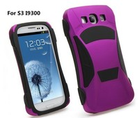 2014 Fashion Wholesale Cool Car Hybrid Combo Case for Samsung Galaxy S3 I9300