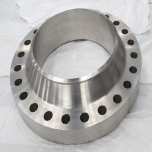 ASME B16.5 Pipe flange Stainless Steel Forged Flange UNS S31803 4'' Class 150 RF Welding Neck Flange in Stock