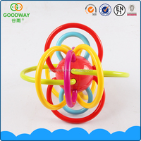 Baby learn to crawl plastic toy ball intelligence ball for baby toys