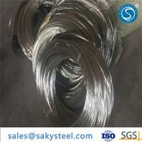 Saky Steel Best stainless steel titanium spring wire Price
