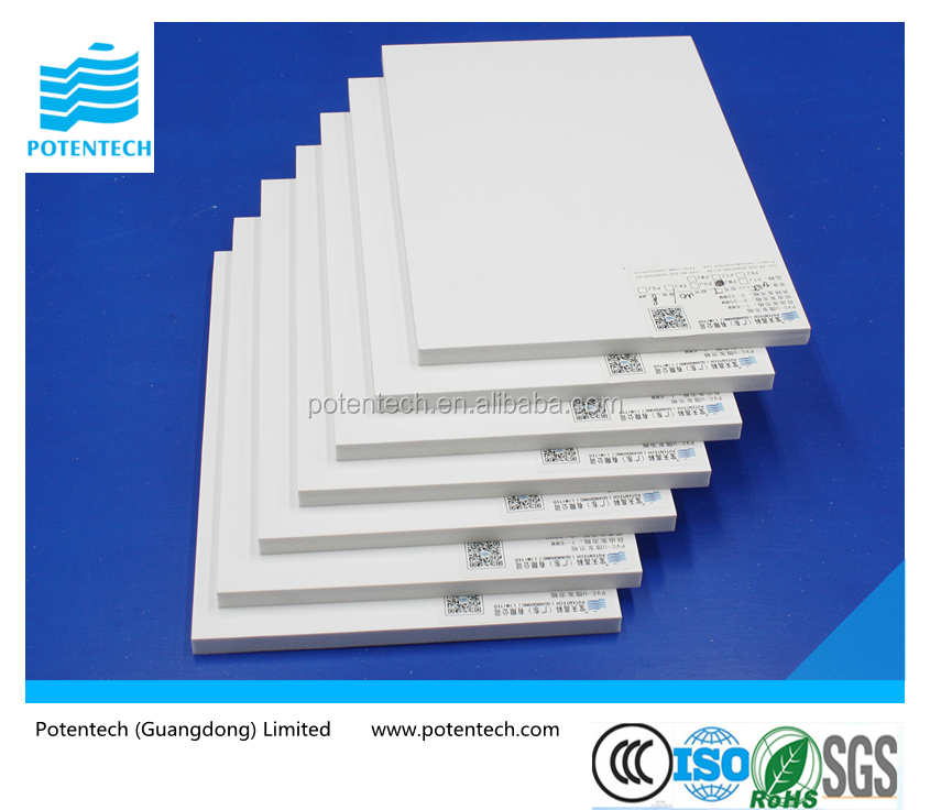 high quality pvc foam board for building construction