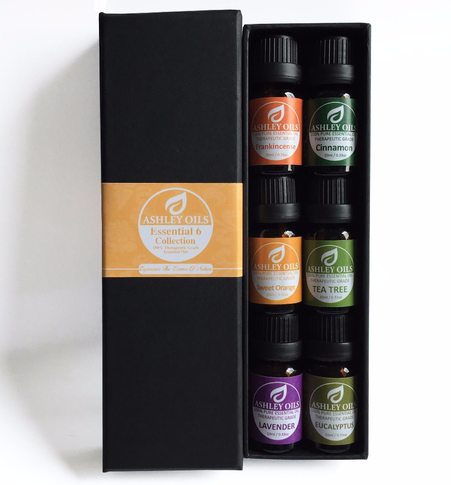 6pcs aromatherapy 100% pure natural essential oil set--826082