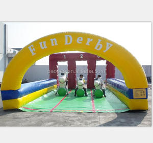 Best popular inflatable horse riding games,inflatable jumping horse racing