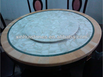 Natural granite and marble dinner tables