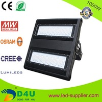 2015 NEW products high lumen residential commercial 1000 watt led flood lights