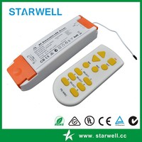 RF Wireless dimmable led driver constant current