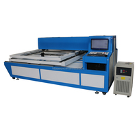 double head 150 watts laser cutting machine for 25mm wood die board cutting