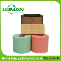 The Factory Lowest Price any color Air Filter Paper/wood pulp filter paper