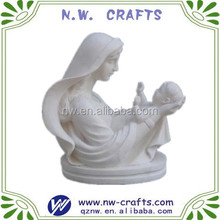 Polyresin figurines mother and son