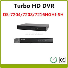 Best selled Hikvision Turbo HD DVR DS-7204/7208/7216HGHI-SH Hikvision DVR digital video recorder