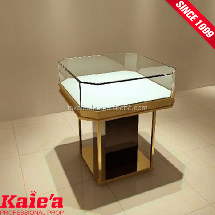 More experience jewelry display stands glass jewelry display cabinet