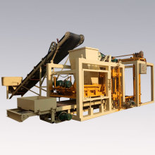 fashional and high output automatic concrete and cement brick making machine
