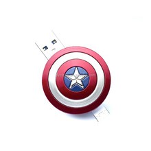 Hot! 8 gb Avengers Captain America Shield otg Usb flash drive/ cheap otg usb stick