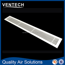 Hvac systems air conditioning aluminum air diffuser wall return air linear bar grilles
